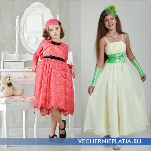 Элегантные свадебные платья для девочек