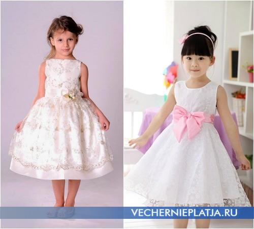 Платья на свадьбу для маленьких девочек фото