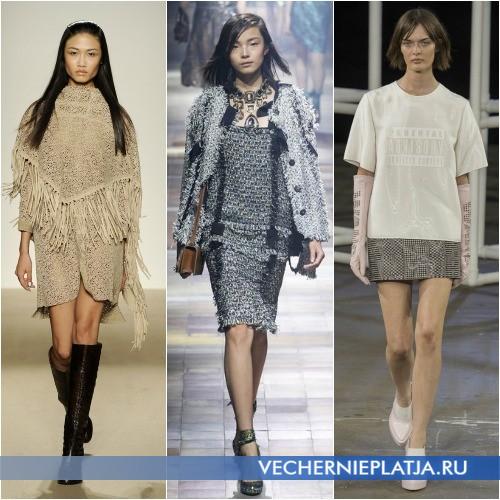 Какие платья будут в моде весной 2014 года