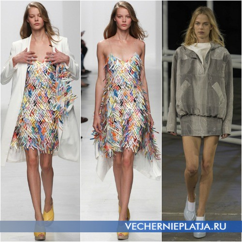 Оригинальные весенние платья 2014