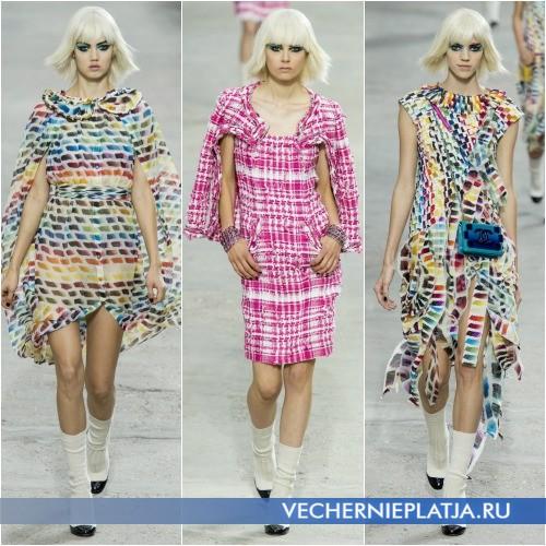 Оригинальные платья весна 2014