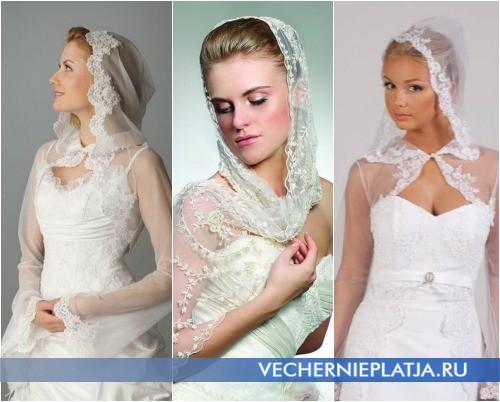 Свадебные накидки для венчания фото