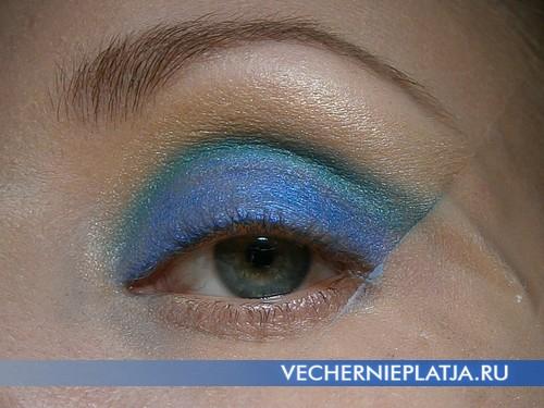 Как сделать праздничный макияж на Новый год 2014