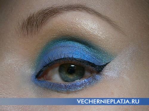Как красиво накрасить глаза на Новый год 2014
