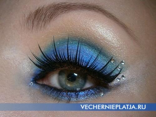 Новогодний макияж 2014 фото