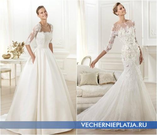 Белое платье для венчания фото