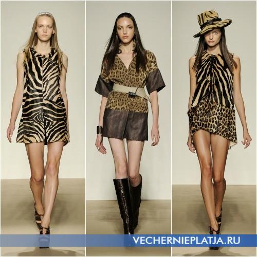 Платья с принтом зебры и других животных от Simonetta Ravizza