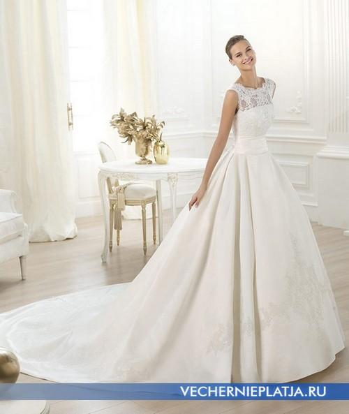 Фасоны свадебных платьев с ажурным верхом
