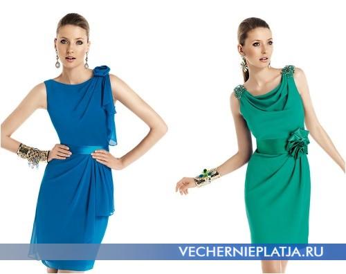 Короткие платья-футляр на выпускной 2014 фото