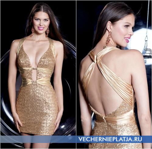Выпускные платья 2014 короткие фото