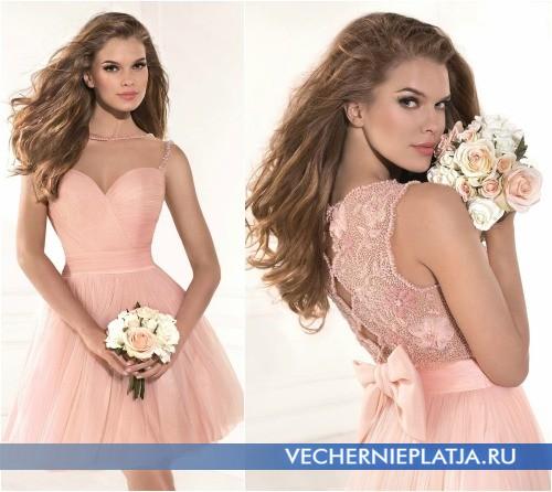 Романтичные платья для выпускного бала фото
