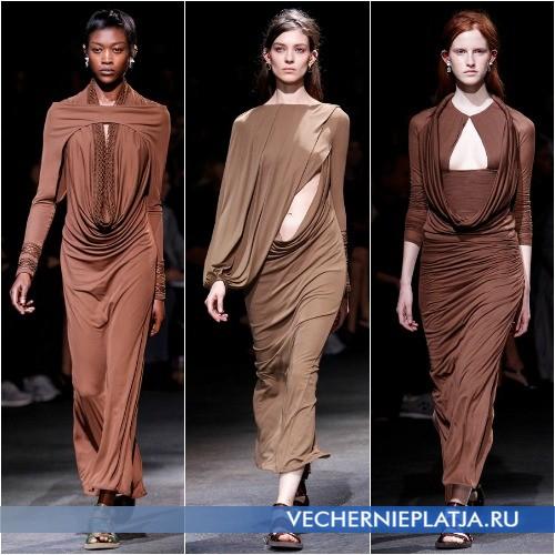 Красивые модные платья Весна-Лето 2014 с вырезами на груди