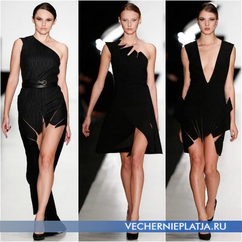 Интересные вырезы на платьях