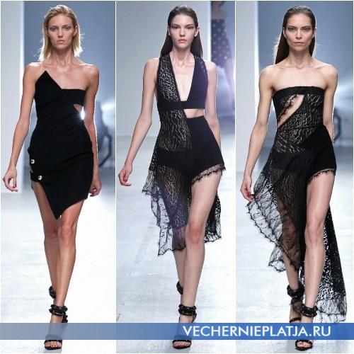 Платья Весна-Лето 2014 с асимметричными вырезами
