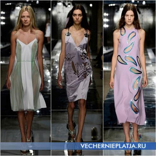 Летние платья и сарафаны 2014 длины миди