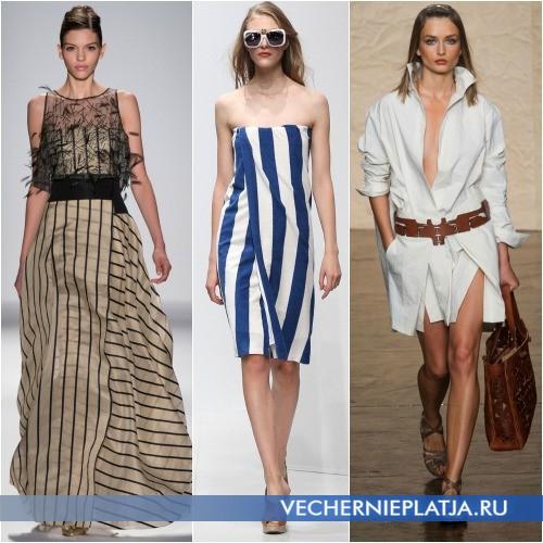 Модели платьев с запахом для вечерней, пляжной и повседневной моды