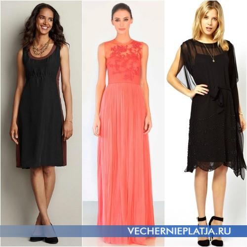 Наиболее подходящие модели платьев для худых и высоких фото