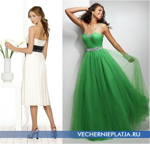 Платья с высокой талией фото