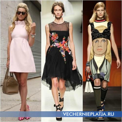 Платье с завышенной талией с чем носить