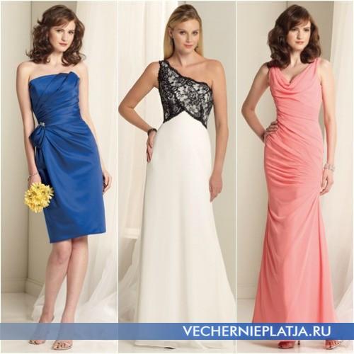 Модные платья 2014-2015 для свидетельницы фото