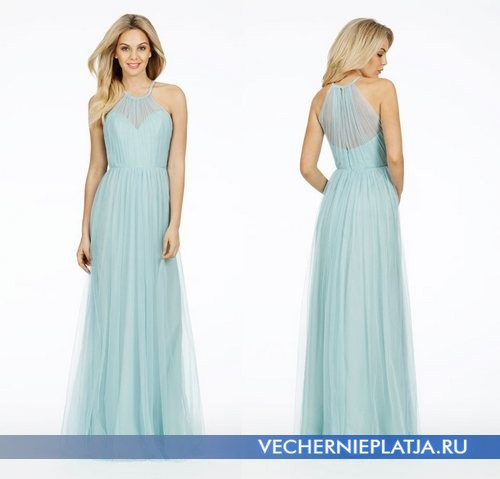 Красивые длинные платья для свидетельницы фото