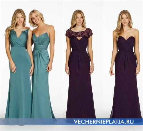 Фото платьев для свидетельниц