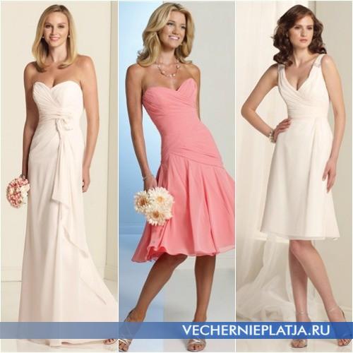 Особенности выбора платья на свидетельницу фото