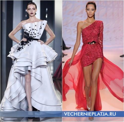 Экстравагантные модели платьев на Новый год 2015