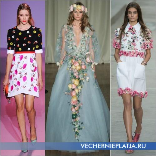 Мода Весна-Лето 2015: платья с декором