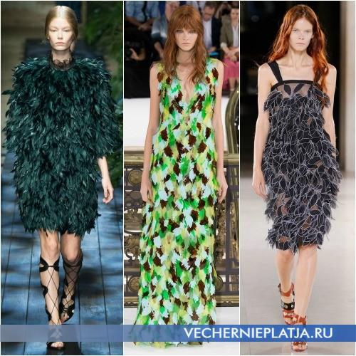 Оригинальные платья 2015 фото