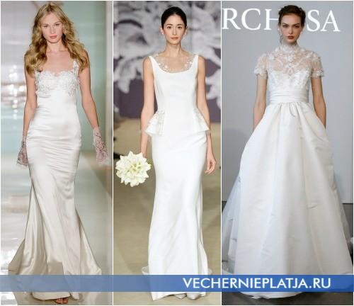 модные свадебные платья 2015 фото