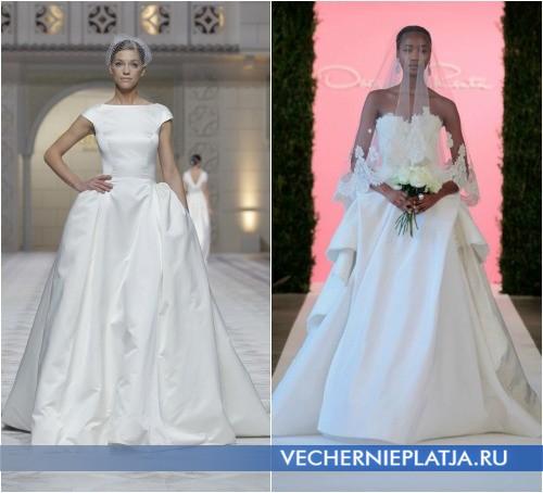 Свадебные королевские платья 2015 фото