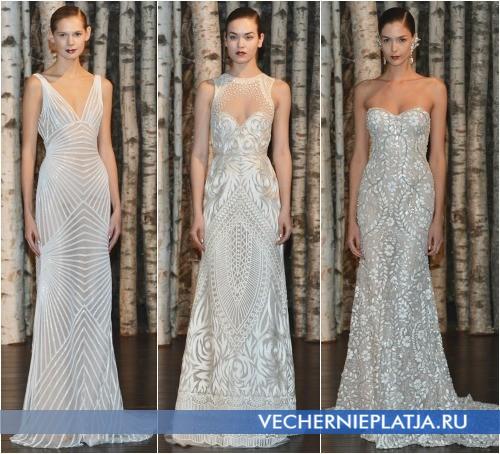 Красивые свадебные наряды 2015