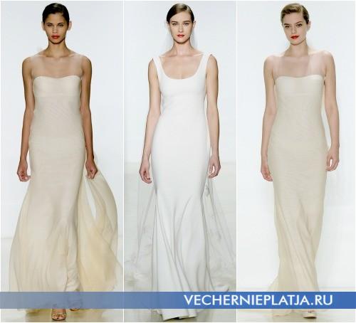 Свадебные длинные платья 2015 фото