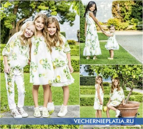 Красивые девичьи летние платья Roberto Cavalli 2015