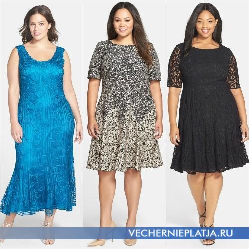 Летнее платье годе для полных 2015 фото