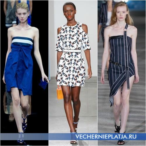 Модные платья 2015 из хлопка