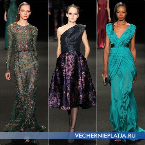 Легкие и красивые платья на новый 2016 год фото