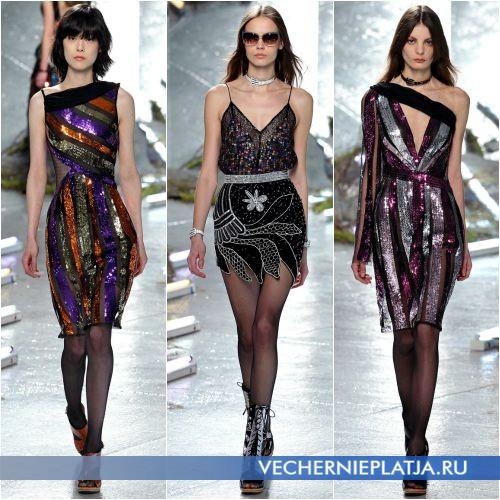 Нарядные платья для празднования Нового года 2016