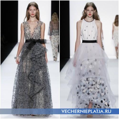 Вечерние длинные платья Весна-Лето 2016