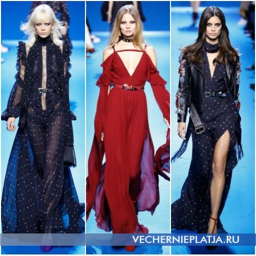 Модные вечерние платья Осень-Зима 2016-2017 фото