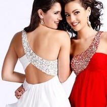 Короткие выпускные платья 2011