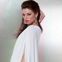 Вечернее белое платье – чарующая нежность и романтика