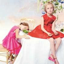 Детские нарядные платья 2015: большая мода для маленьких леди