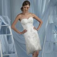 Короткие свадебные платья – выбор современных невест