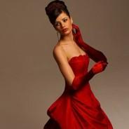 Красное свадебное платье – для сильных и стильных невест