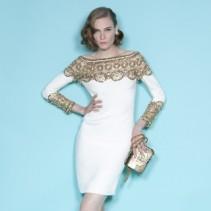 Нежные вечерние платья от Marchesa (Маркизы): коллекция Весна-Лето 2012
