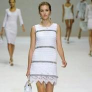 Обзор самых модных моделей платьев лето 2011