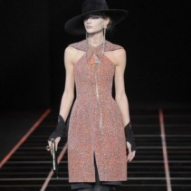 Платья с шортами Giorgio Armani – оригинальный хит сезона Осень-Зима 2012-2013