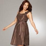 Платья 2012 для полных красавиц: разнообразие фасонов для округлых форм